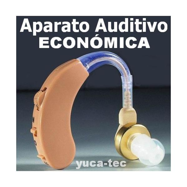 Aparato Auditivo Auxiliar Sordera Tipo Curveta ECONÓMICA
