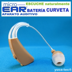 MICRO EAR® Aparato Auditivo BATERÍA Curveta