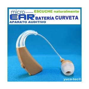 MICRO EAR� Aparato Auditivo BATER�A Curveta
