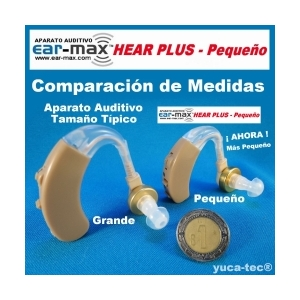 Aparato Auditivo  EAR MAX� HEAR PLUS - Peque�o Curveta