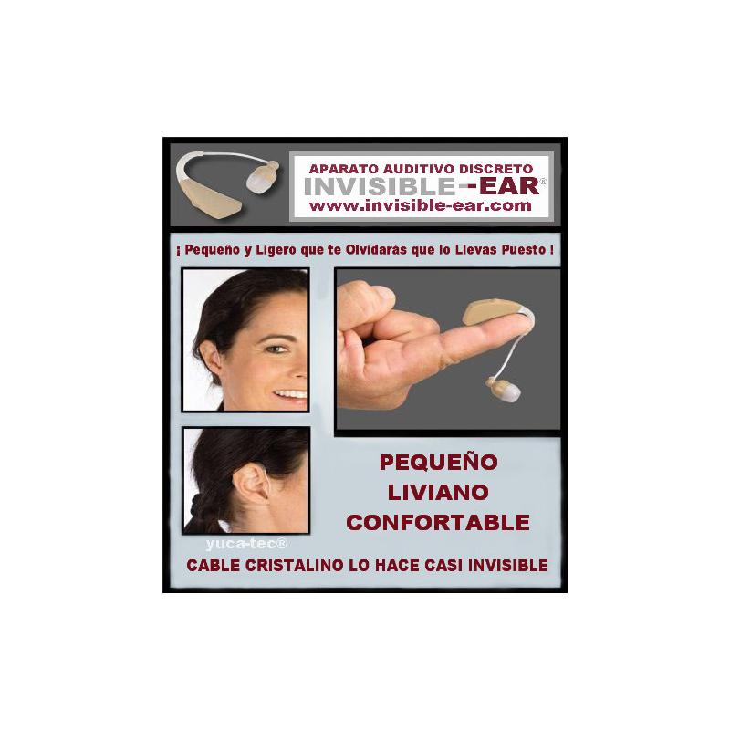 INVISIBLE-EAR® Aparato Auditivo Discreto