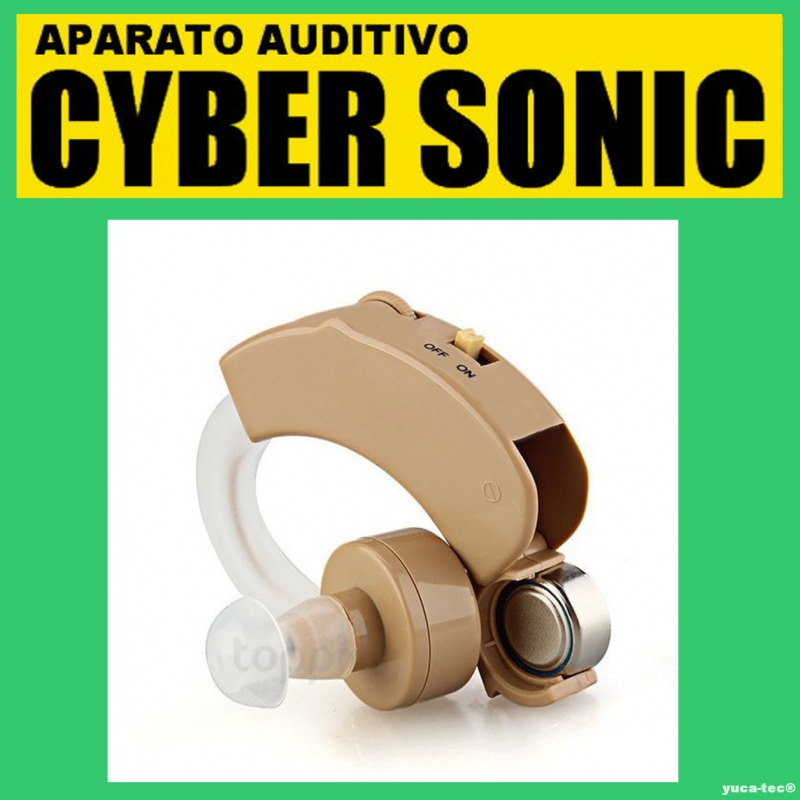 CYBER SONIC Aparato Auditivo Auxiliar